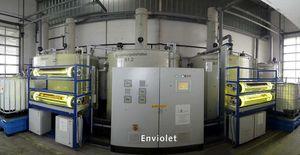 Impianti di ossidazione UV a funzionamento continuo