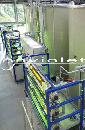 AOP-installation for elimination of COD