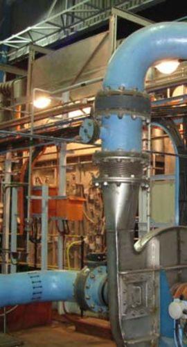 Reattori UV aperti per gas di scarico
