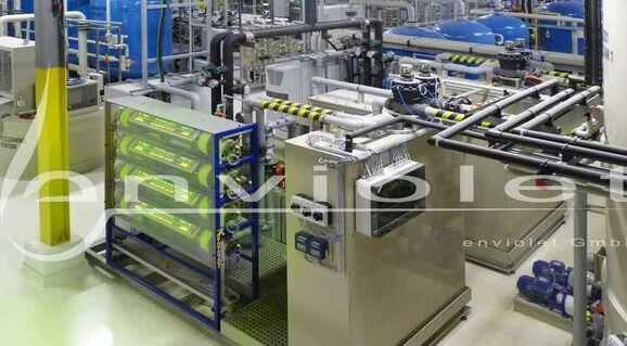 Ossidazione UV per la rimozione sicura di agenti complessanti nell'industria dei semiconduttori