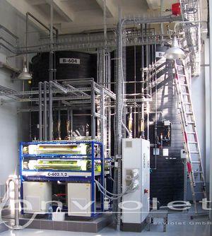 UV-Anlagen zur Oxidation von CSB