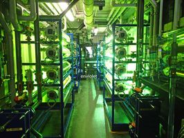 Système UV dans des conteneurs