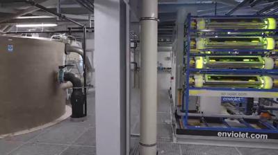 Installatie om 460 m³/d  afvalwater te behandelen, afkomstig van Cosmetica productie bij Henkel