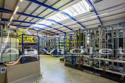 productie van AOP installaties met de hoogste kwaliteit