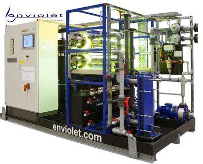 Impianti ossidazione UV prefabricati