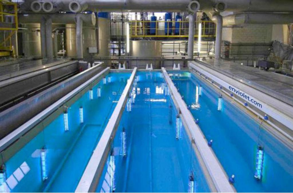 Desinfección UV de tanques TSAA abiertos