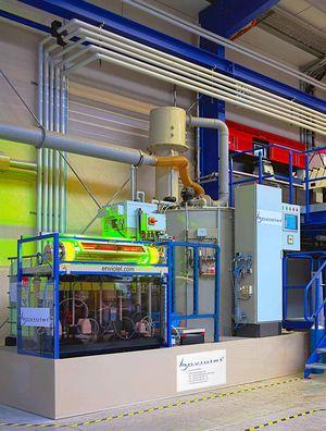 pilota UV 6.000 L trattamento nella fabbrica enviolet