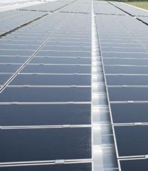 Impianto solare sul tetto sale dell' enviolet GmbH