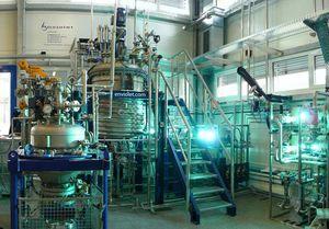 Síntesis fotoquímica en dos etapas