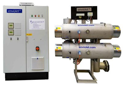 UV disinfection of ballast water