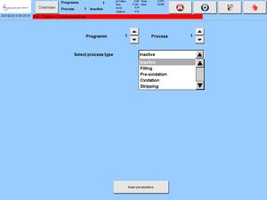 Processus d'adaptation via des touches logicielles