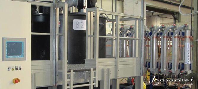 Electrowinning plant
