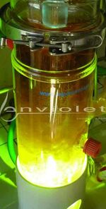 Fotochemische Synthese met DMIF-UV-Reactor