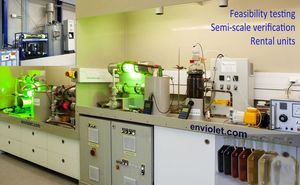 Application laboratory of enviolet GmbH